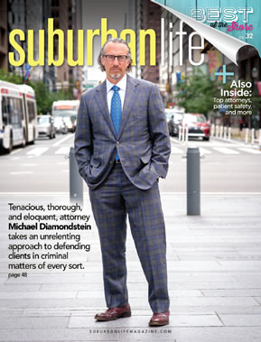 Michael J. Diamondstein Featured in Suburban Life Magazine